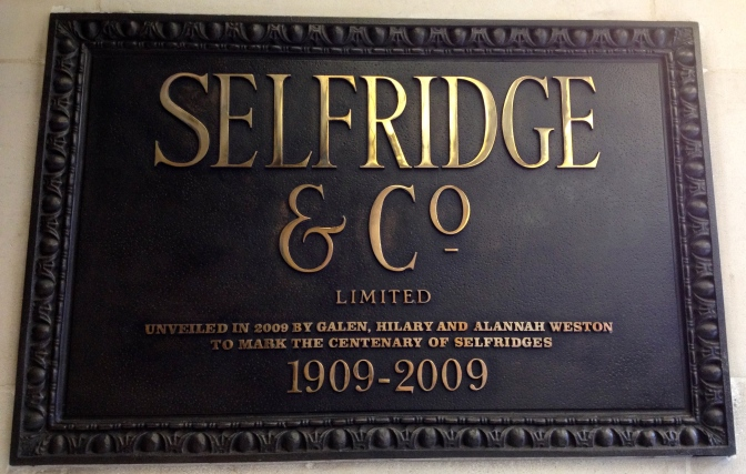 The Origins of Selfridge & Co.